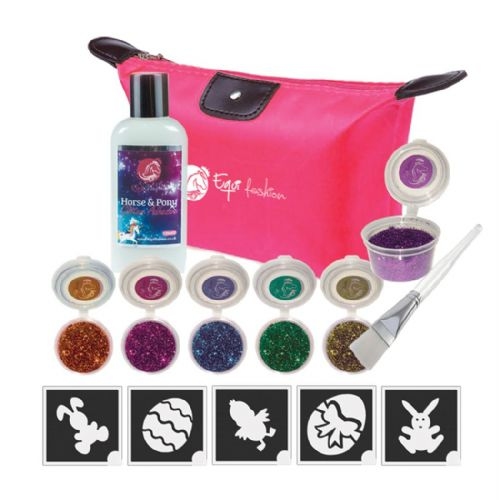 Equifashion Glitter Quarter Marks Easter Tattoo Kit
